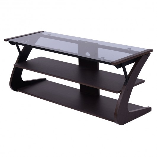 3 tier tempered glass top tv stand entertainment centers tv
