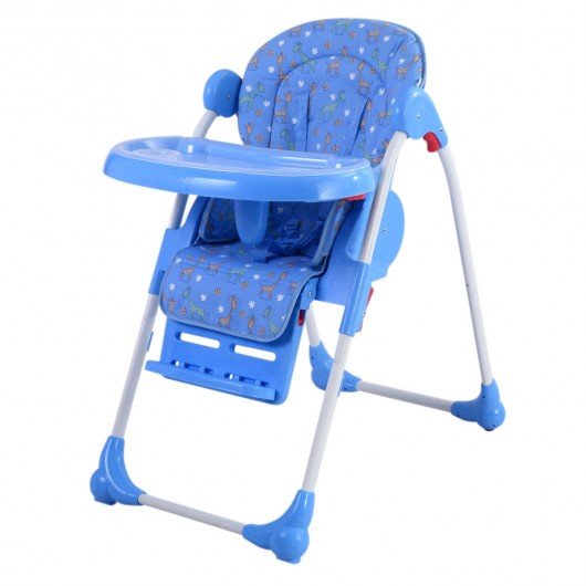 Merveilleux Adjustable Baby Infant Toddler High Chair Feeding Seat