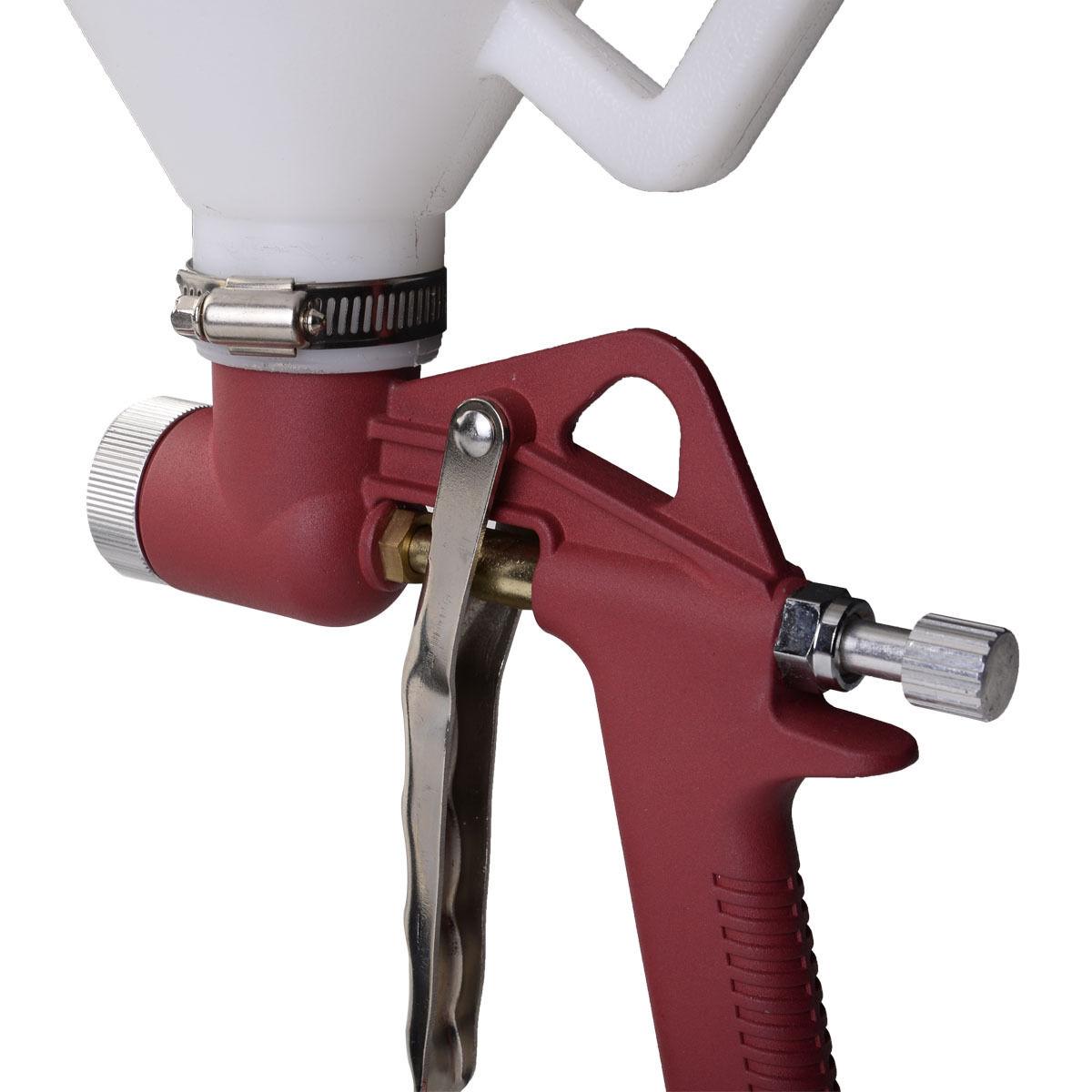 Air Hopper Spray Gun Texture Tool with 3 Nozzle