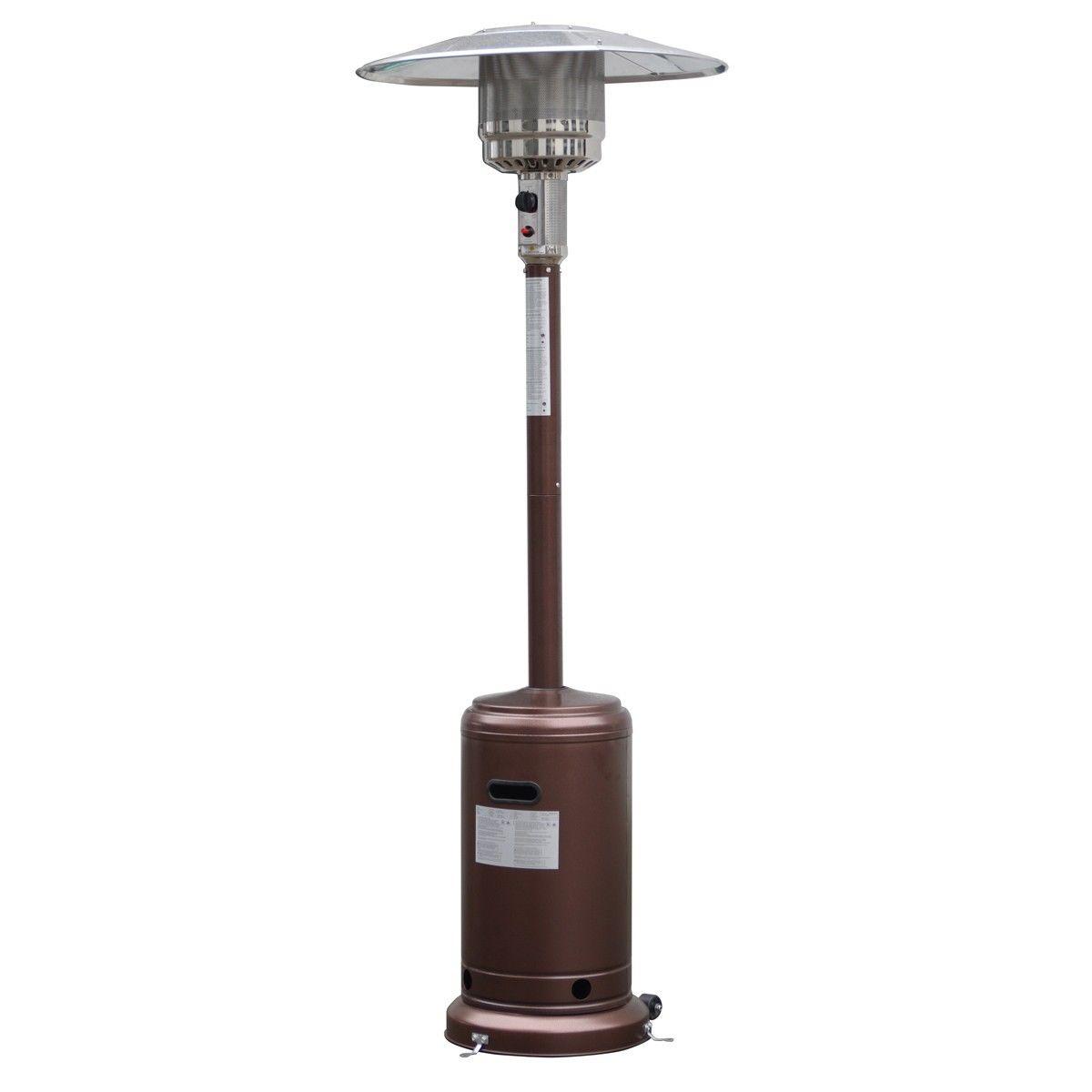 Patio Propane Standing LP Gas Steel Accessories Heater