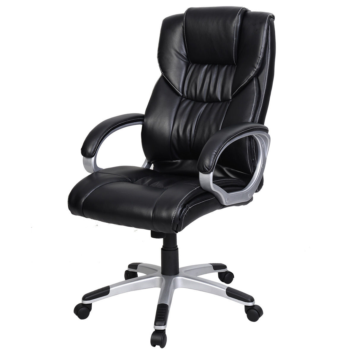 PU Leather High Back Office Chair 23.6