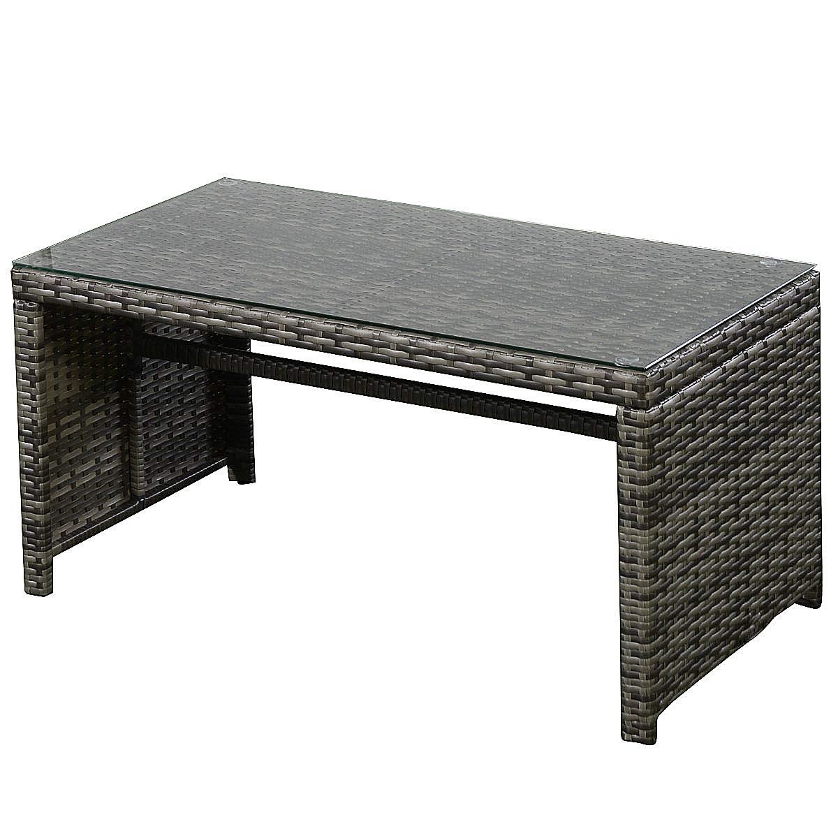 4 pcs Goplus Outdoor Garden Sofa Furniture Set