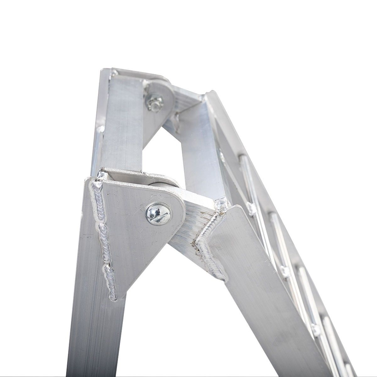 7.5' Arched Motorcycle Bike Folding Loading Ramps
