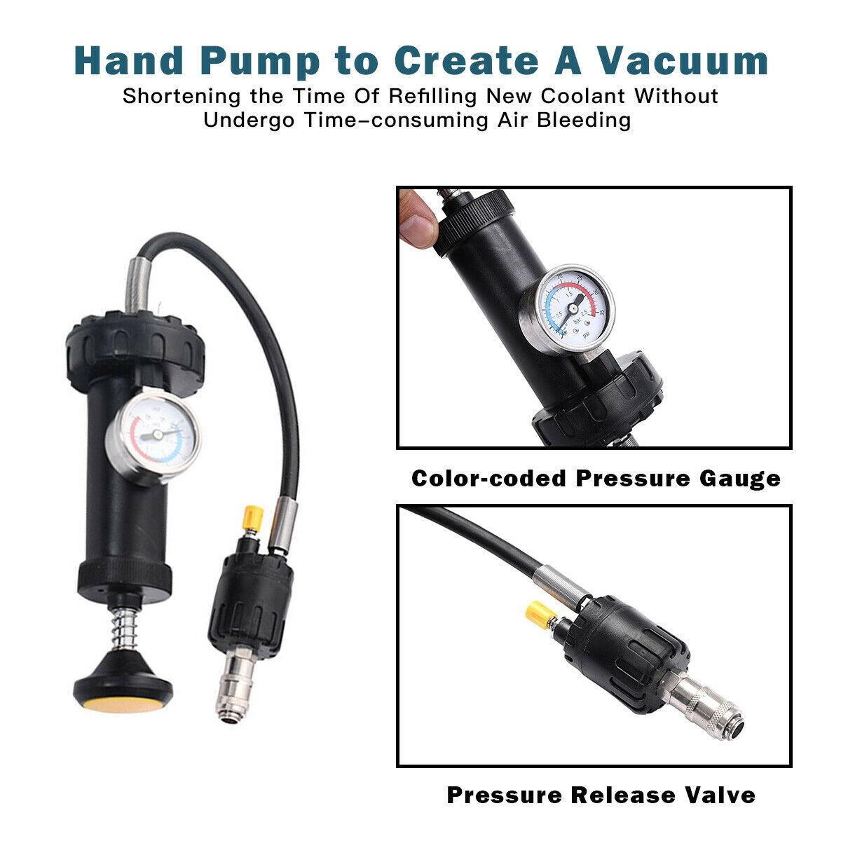 Goplus 18 pcs Radiator Pump Pressure Cooling Leak Tester