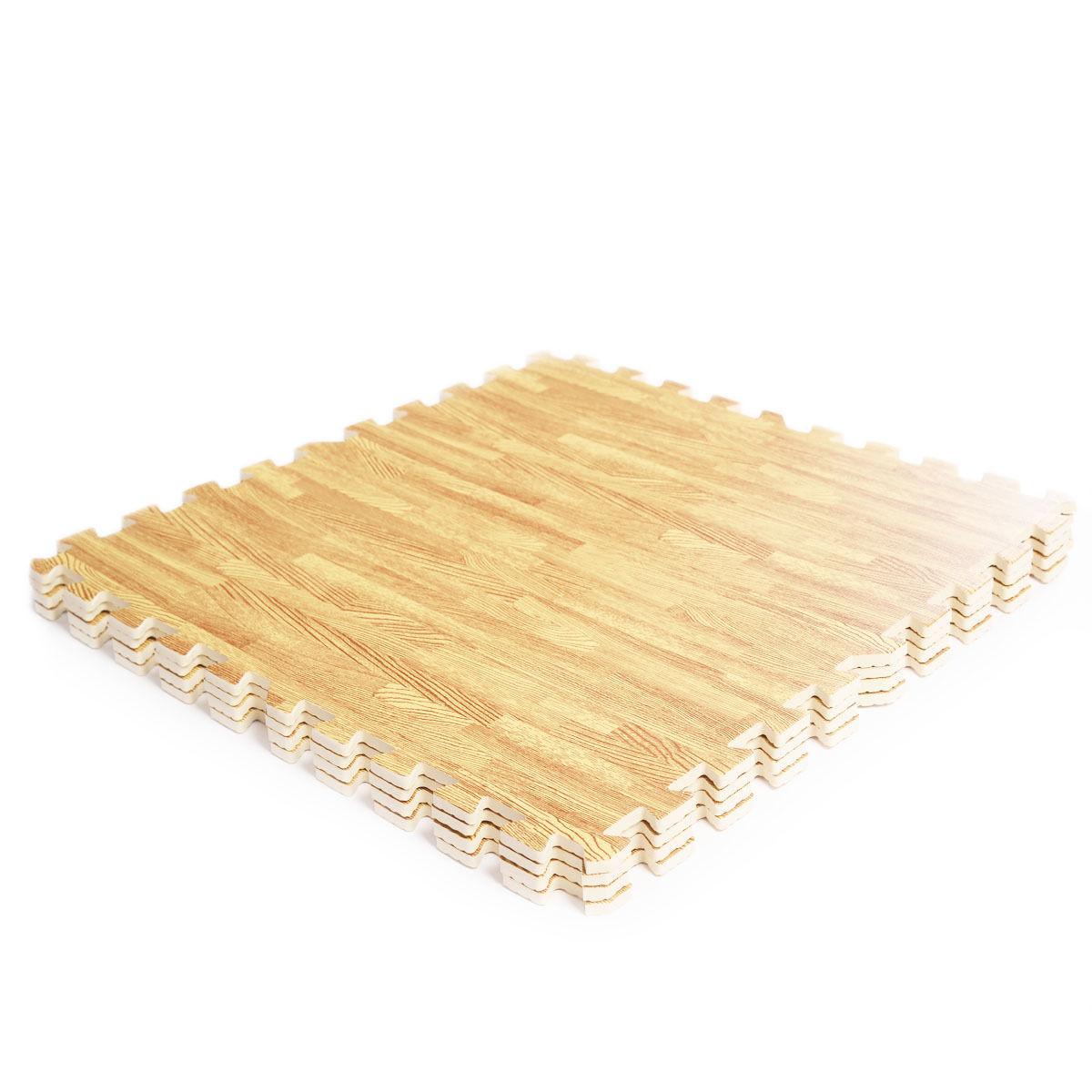 48 Sq Ft EVA Foam Floor Interlocking Mat Show Floor Gym Mat