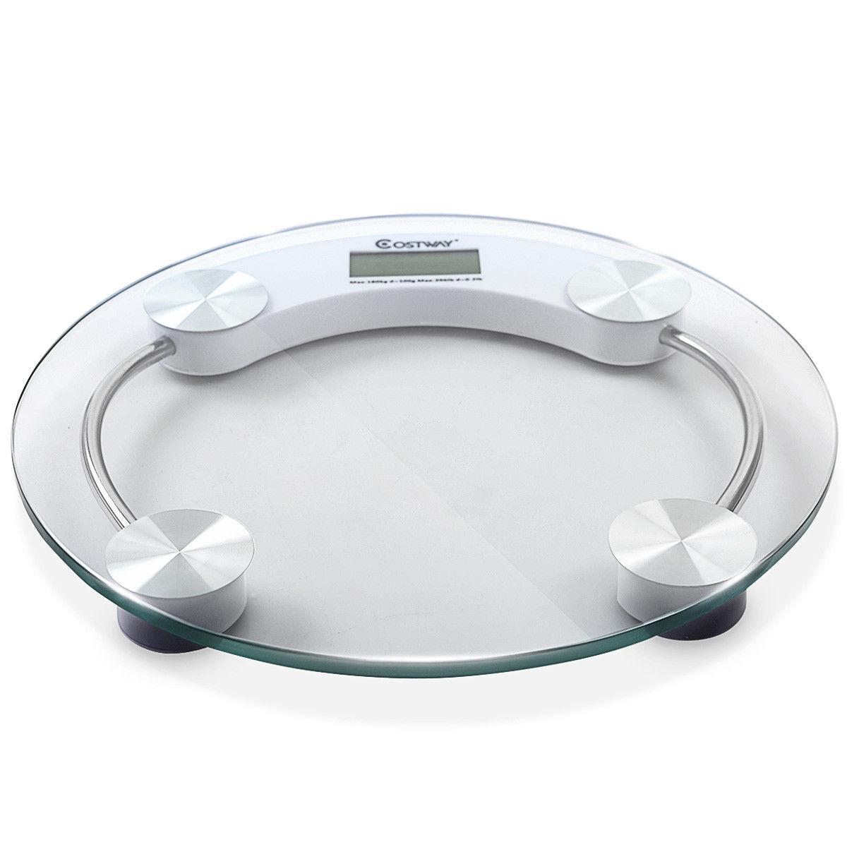 396 lb Personal Bathroom Round Digital Weight Scale
