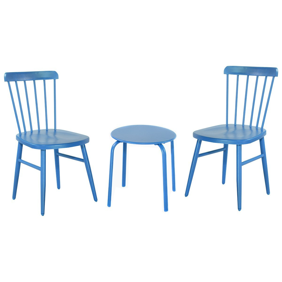 3 pcs Bistro Steel Table and Chair