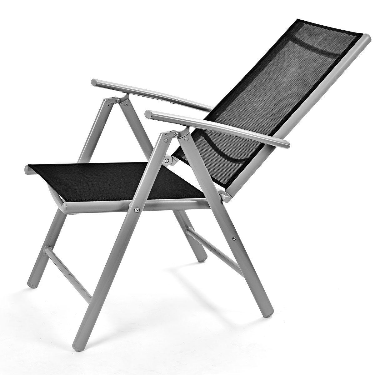 Set of 2 Patio Folding Chairs