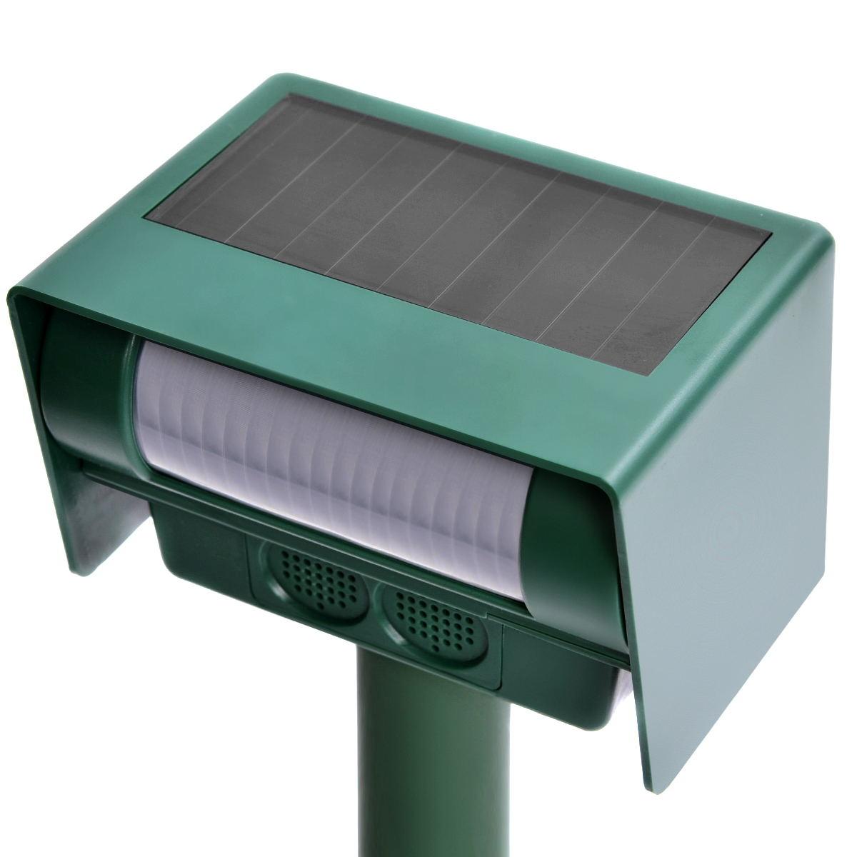 Solar Power Ultrasonic Pest Animal Repeller