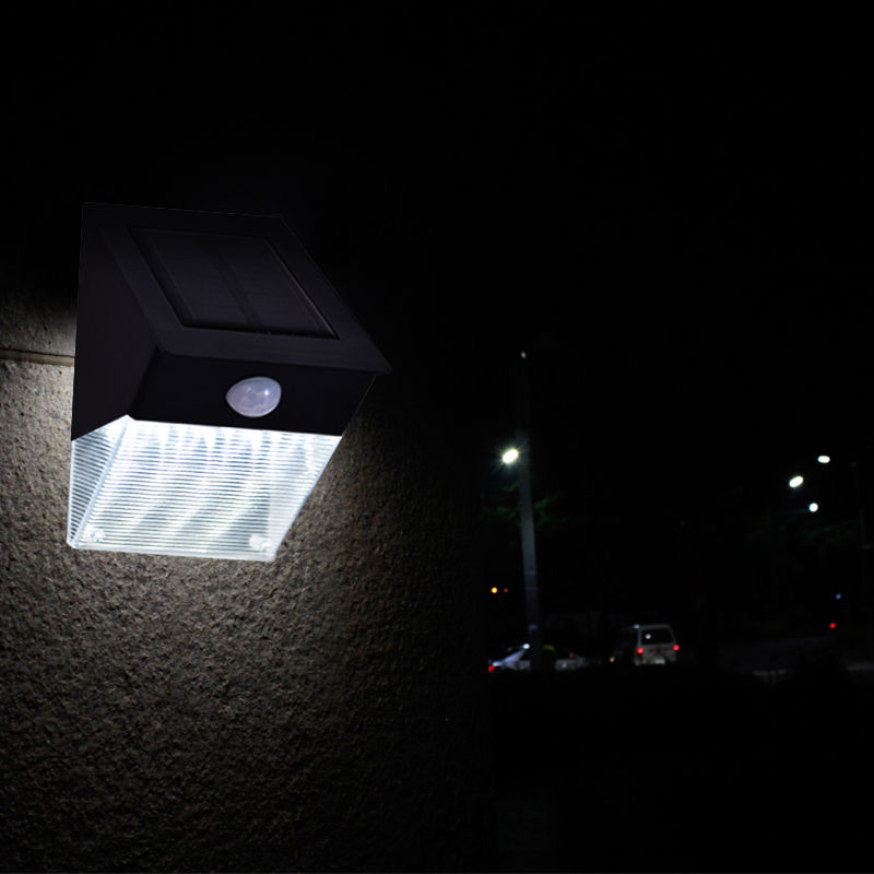 12 LED Solar Power Motion Sensor Spot Flood Light