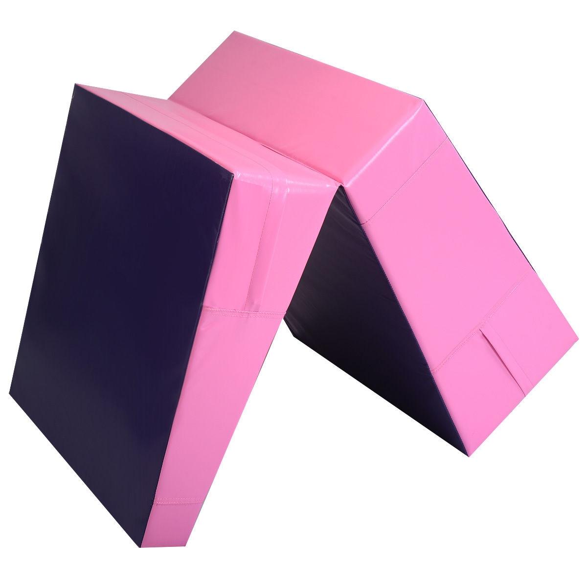 Folding Incline Tumbling Wedge Gymnastics Mat