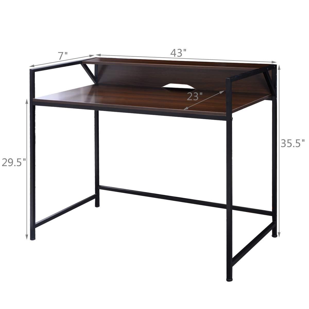 Simplistic Desk Computer Office Furniture