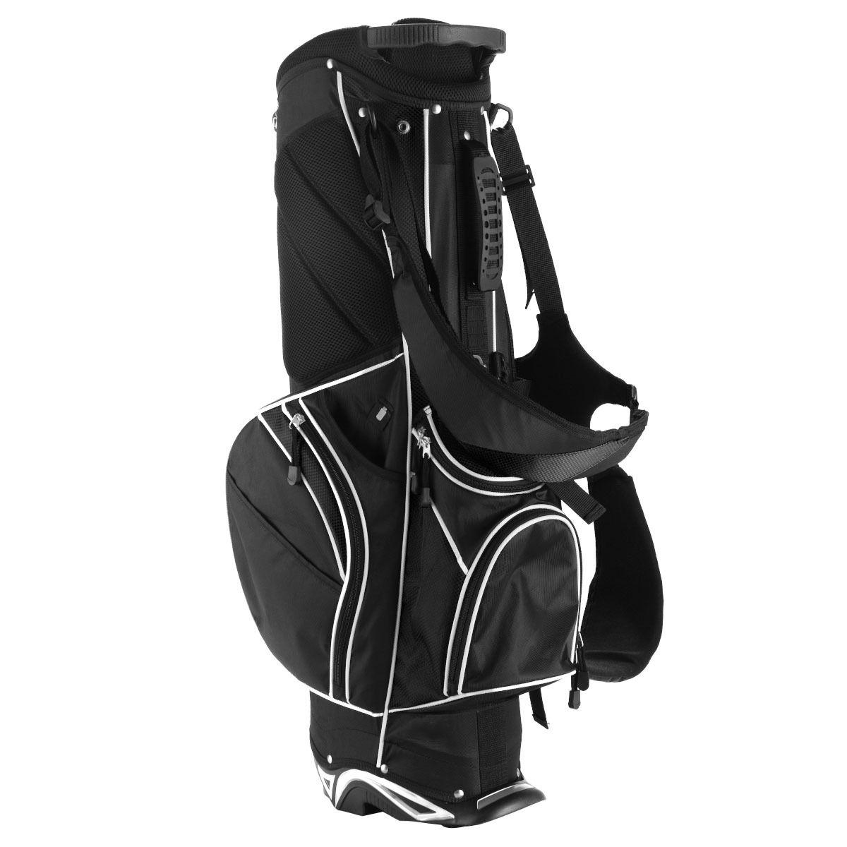 Golf Stand Cart Bag w/ 6 Way Divider Carry Pockets