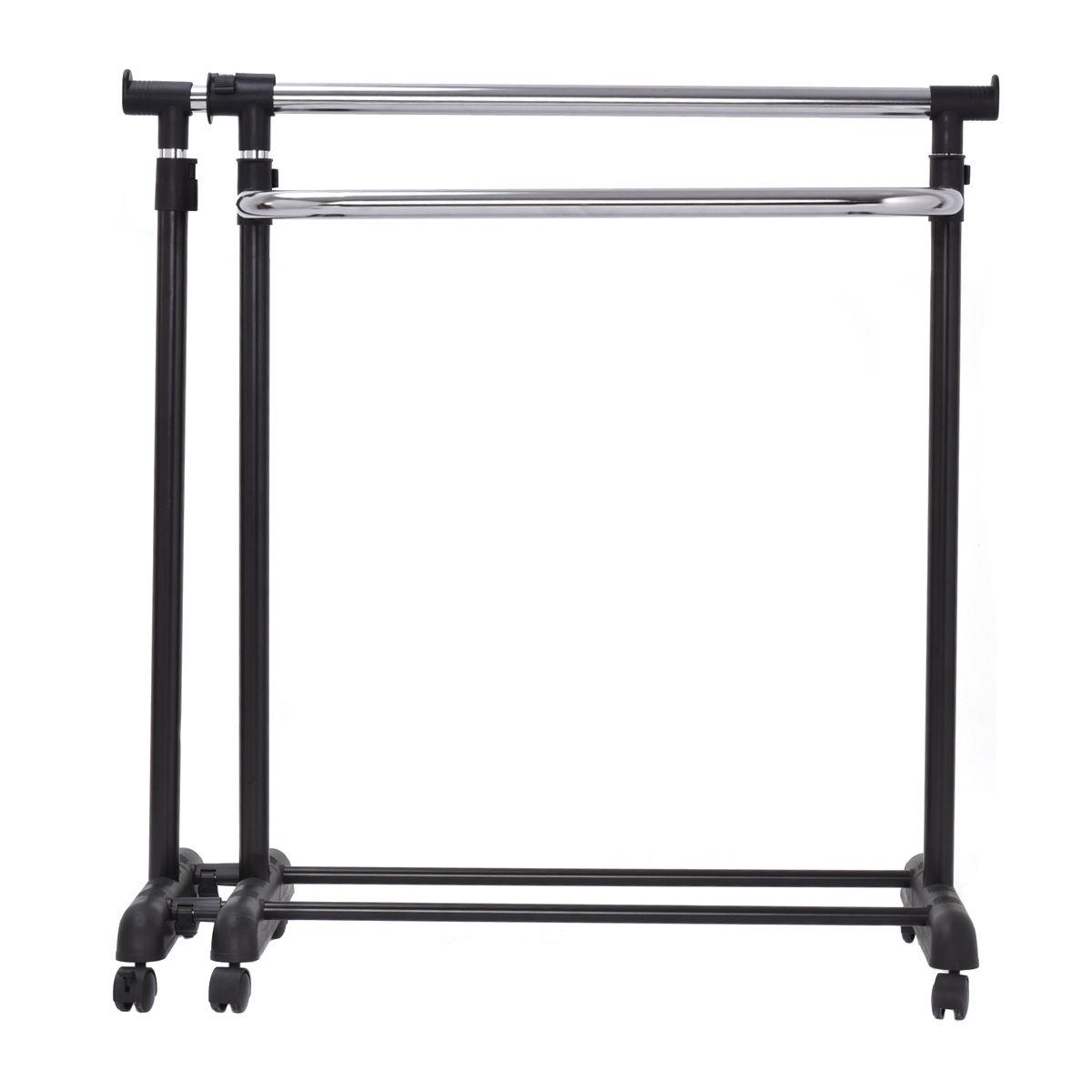 Adjustable Garment Extendable Clothes Rail Rack Hanger