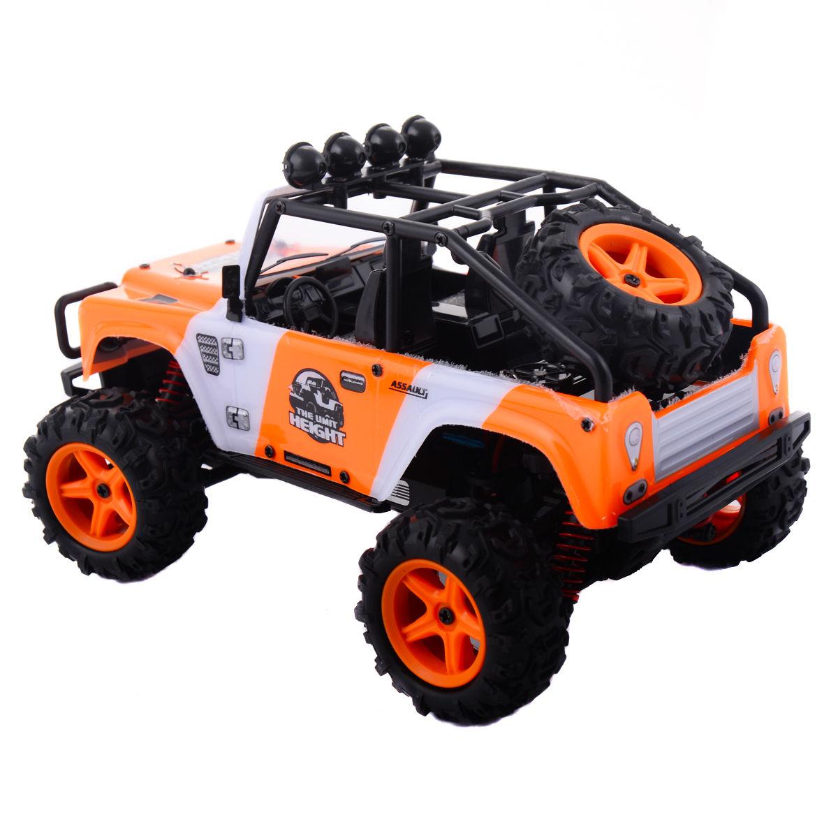 Orange 1:22 2.4G 4WD High Speed RC Desert Buggy Truck