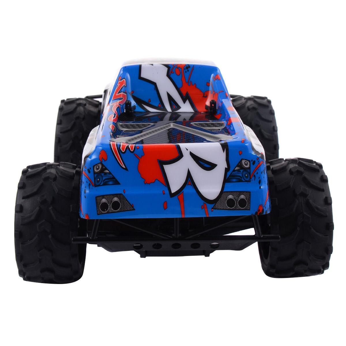 Blue 1:12 2.4G RC Car Super High Speed Remote Control Sport Racing Car