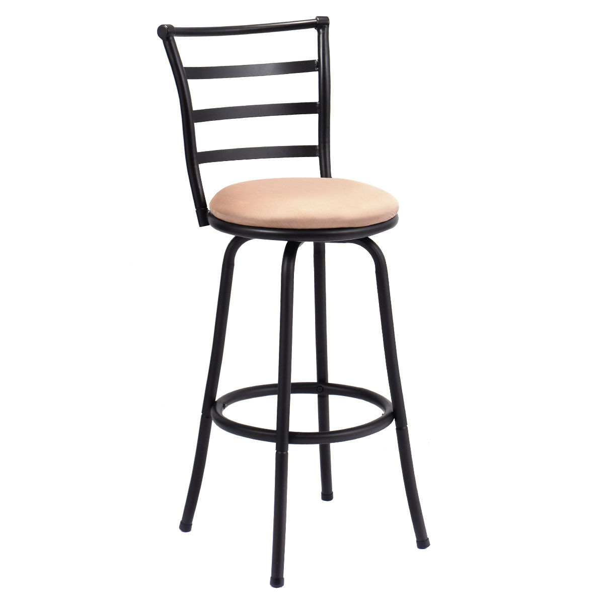 Modern Swivel Bar Stool Counter Height Chair