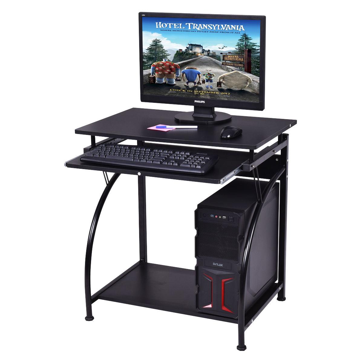 Spacious Wooden PC Laptop Computer Desk