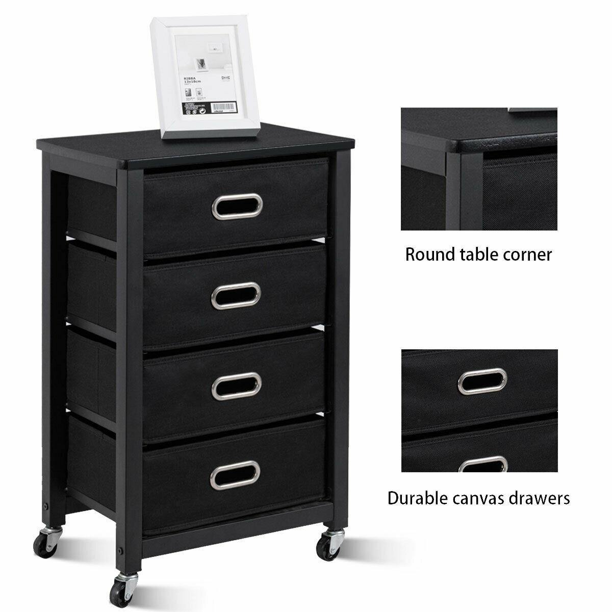 Rolling Heavy Duty File Cabinet