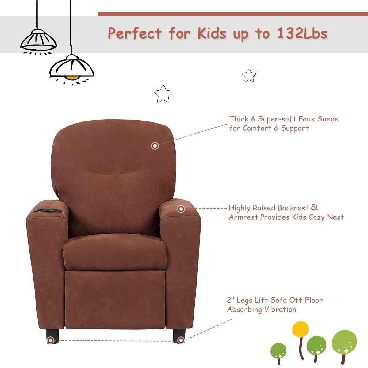 BL/BN Kids Recliner Arm chair
