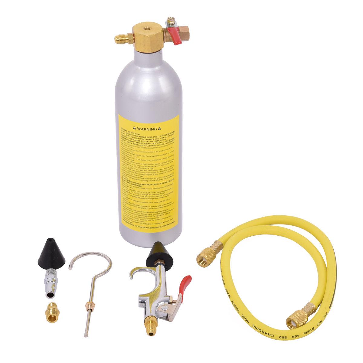 Air Conditioner System Flush Canister Gun Kit