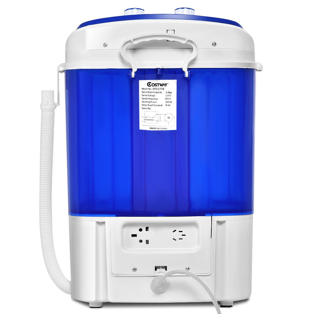 Mini Electric Compact Portable Durable Laundry Washing Machine Washer