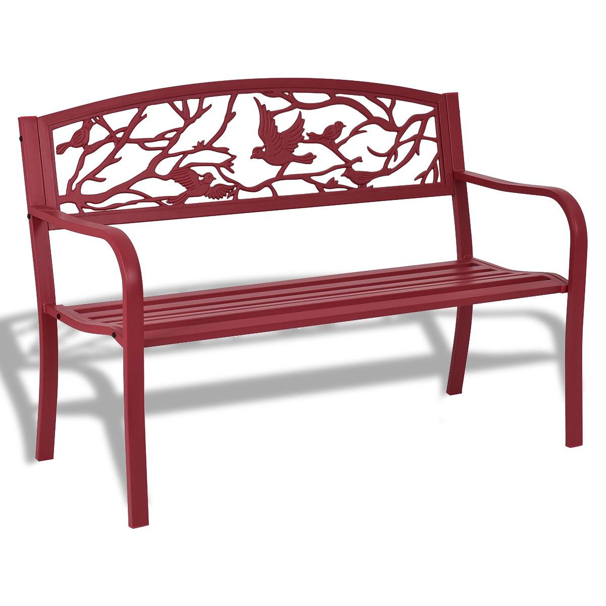 Patio Garden Bench Park Yard Outdoor Furniture