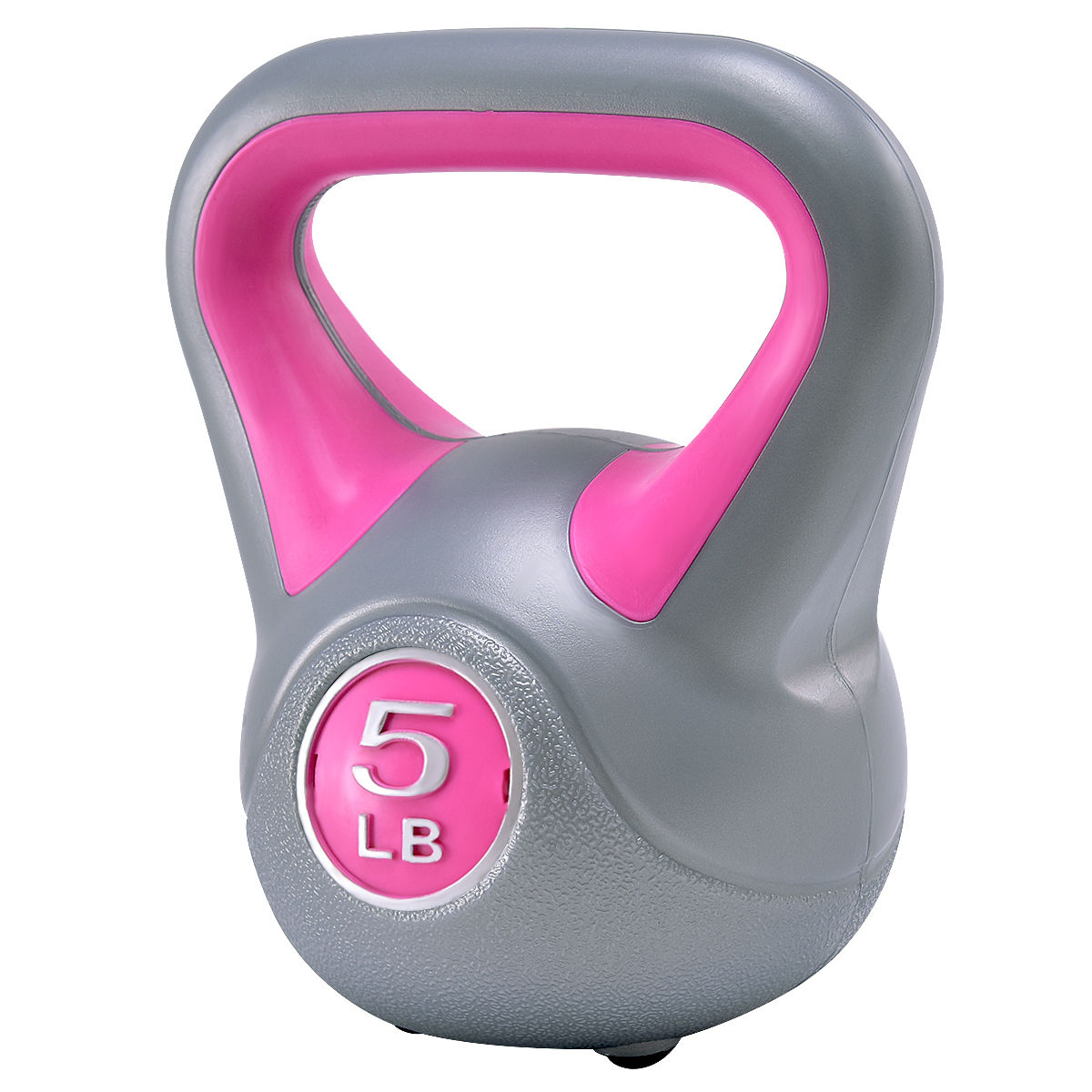 Kettlebell Exercise Fitness Body 5-45lbs Weight Loss Strength Training Workout