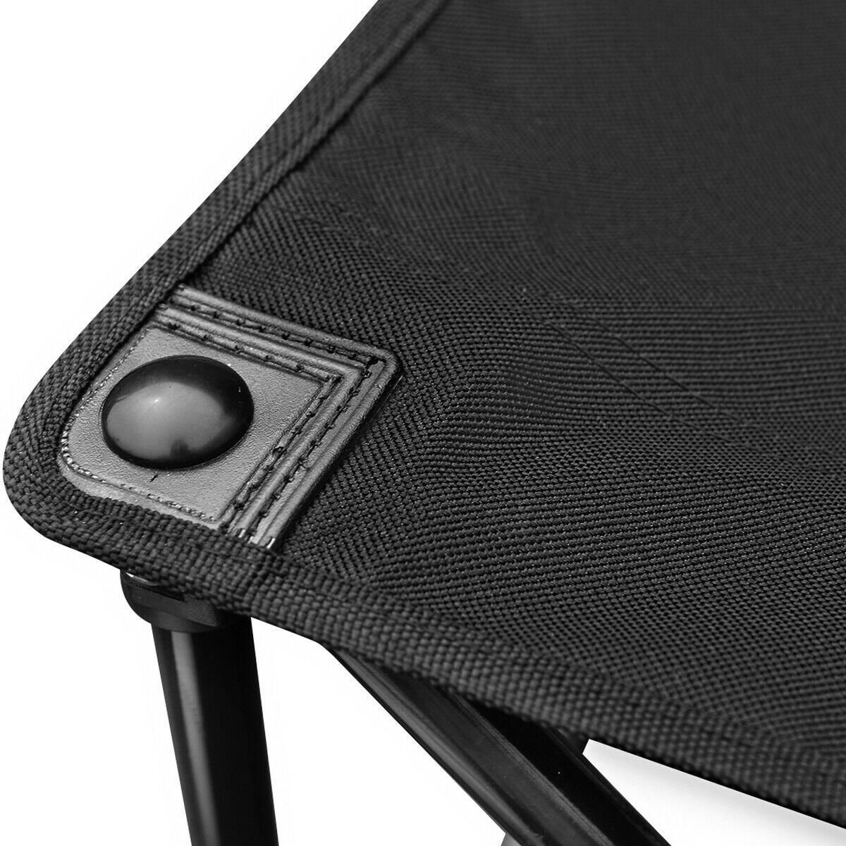 Black/Red Portable 6 Seats Folding Chair W/Carry Bag-Black