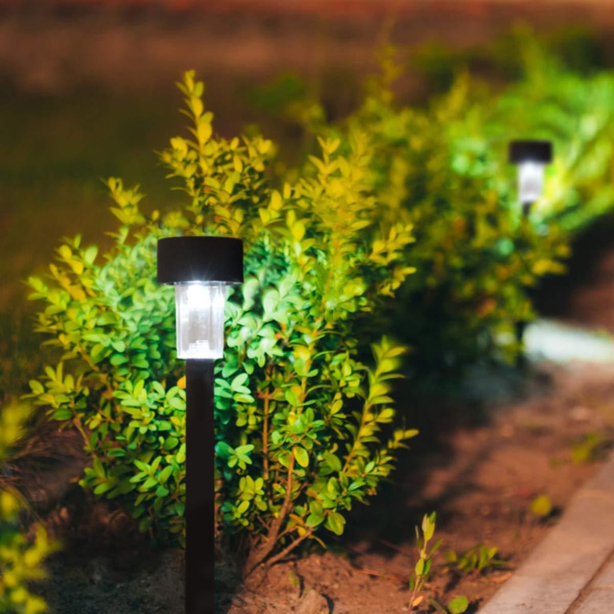 10 pcs Garden Outdoor LED Solar Lawn Light