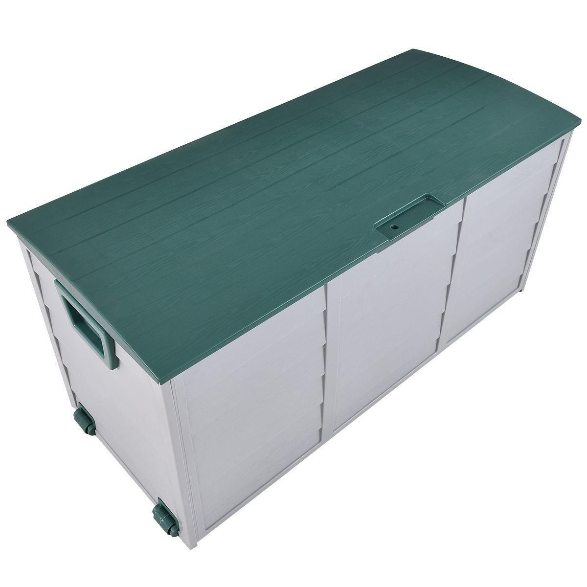 70 Gallon Durable Outdoor Plasic Storage Box