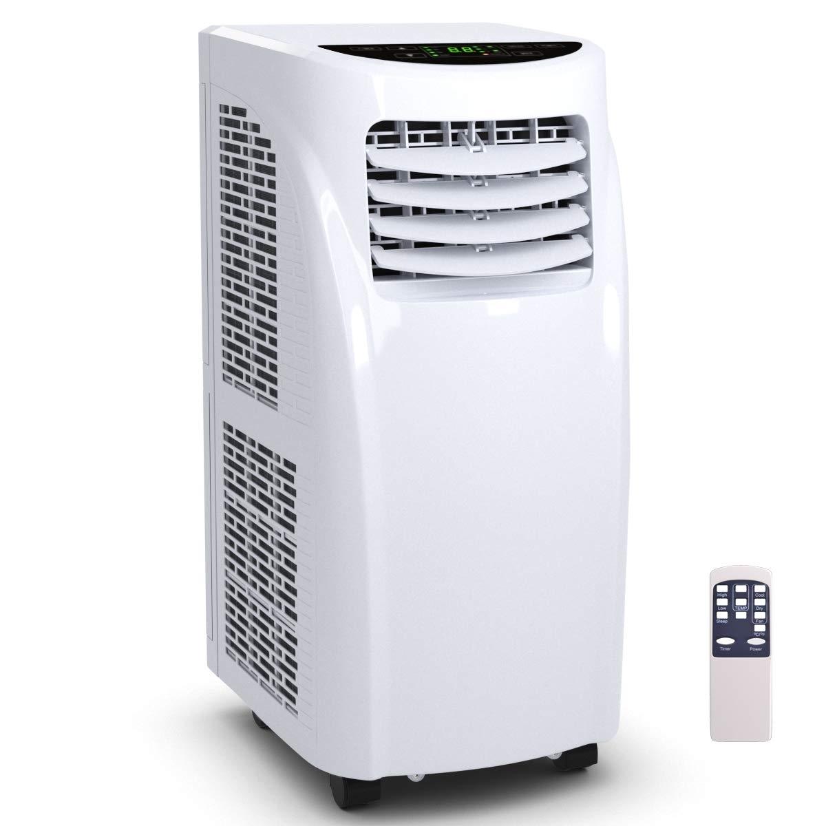 10000 BTU Portable Air Conditioner & Dehumidifier w/ Window Kit