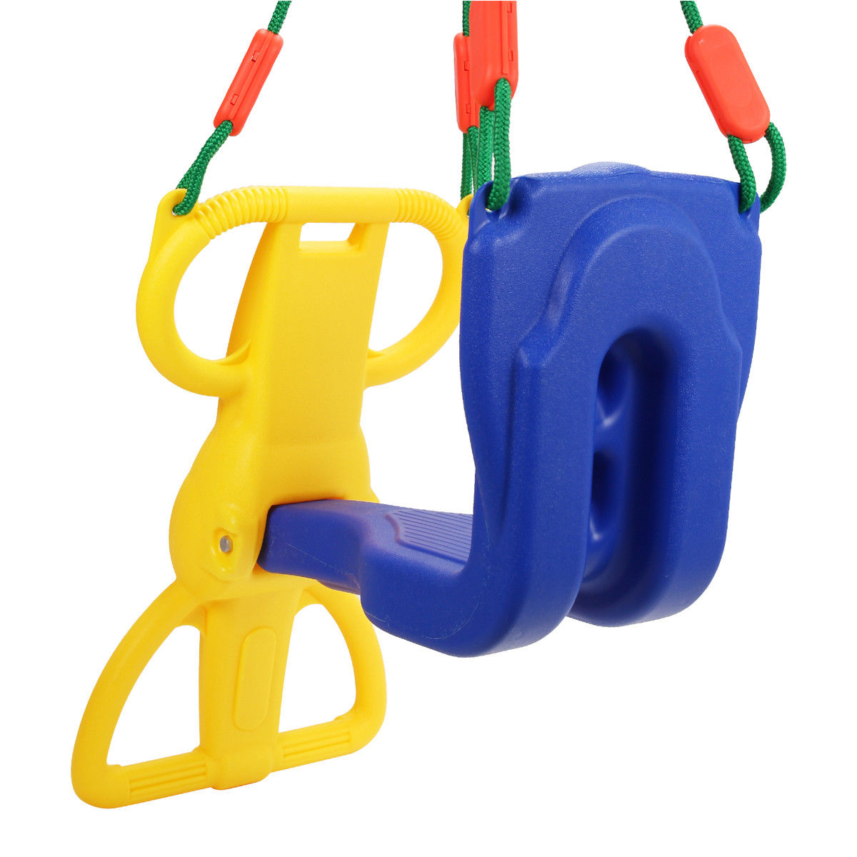 Backyard Kids Rider Glider Swing with Hangers