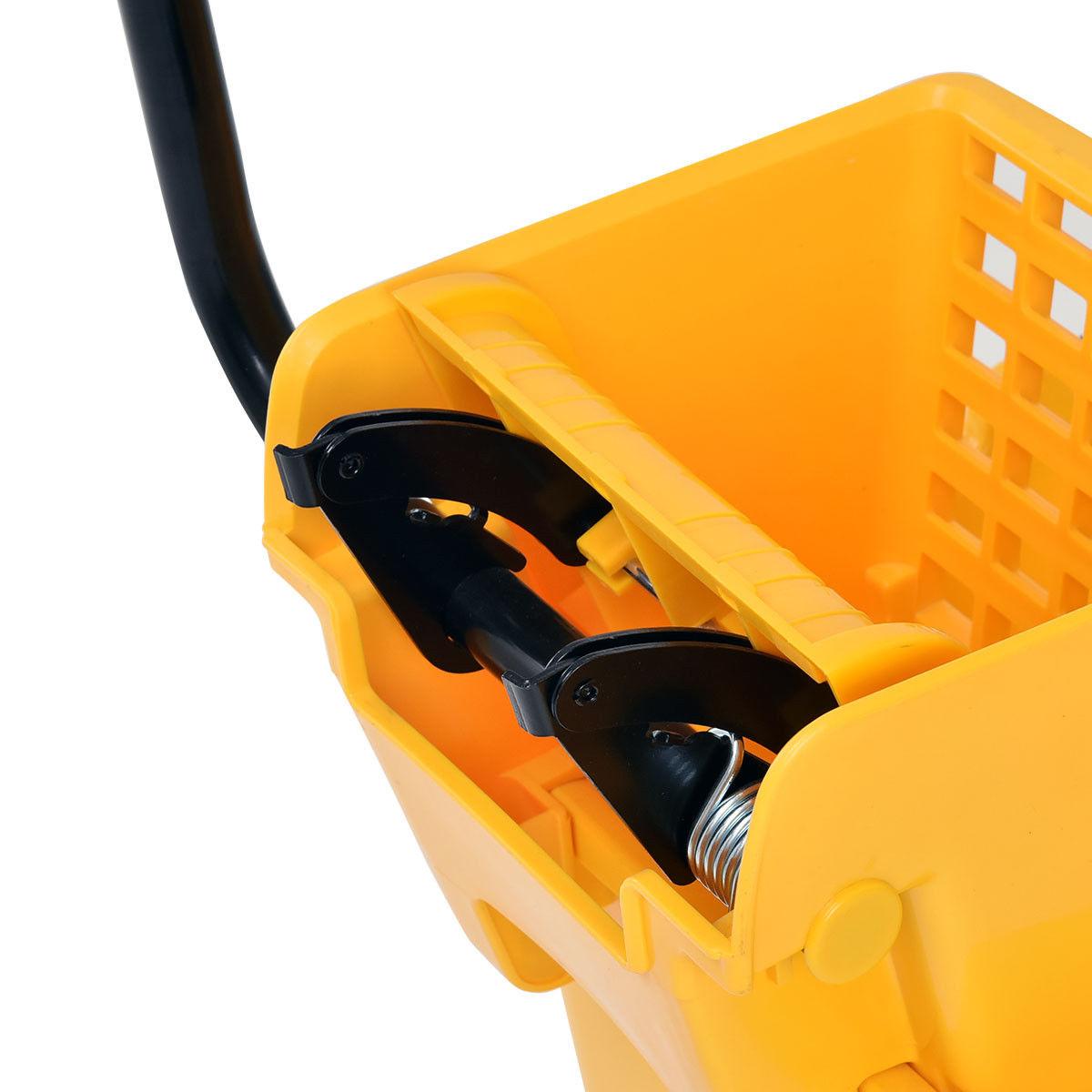 31 Quart Side Mop Bucket Press Wringer