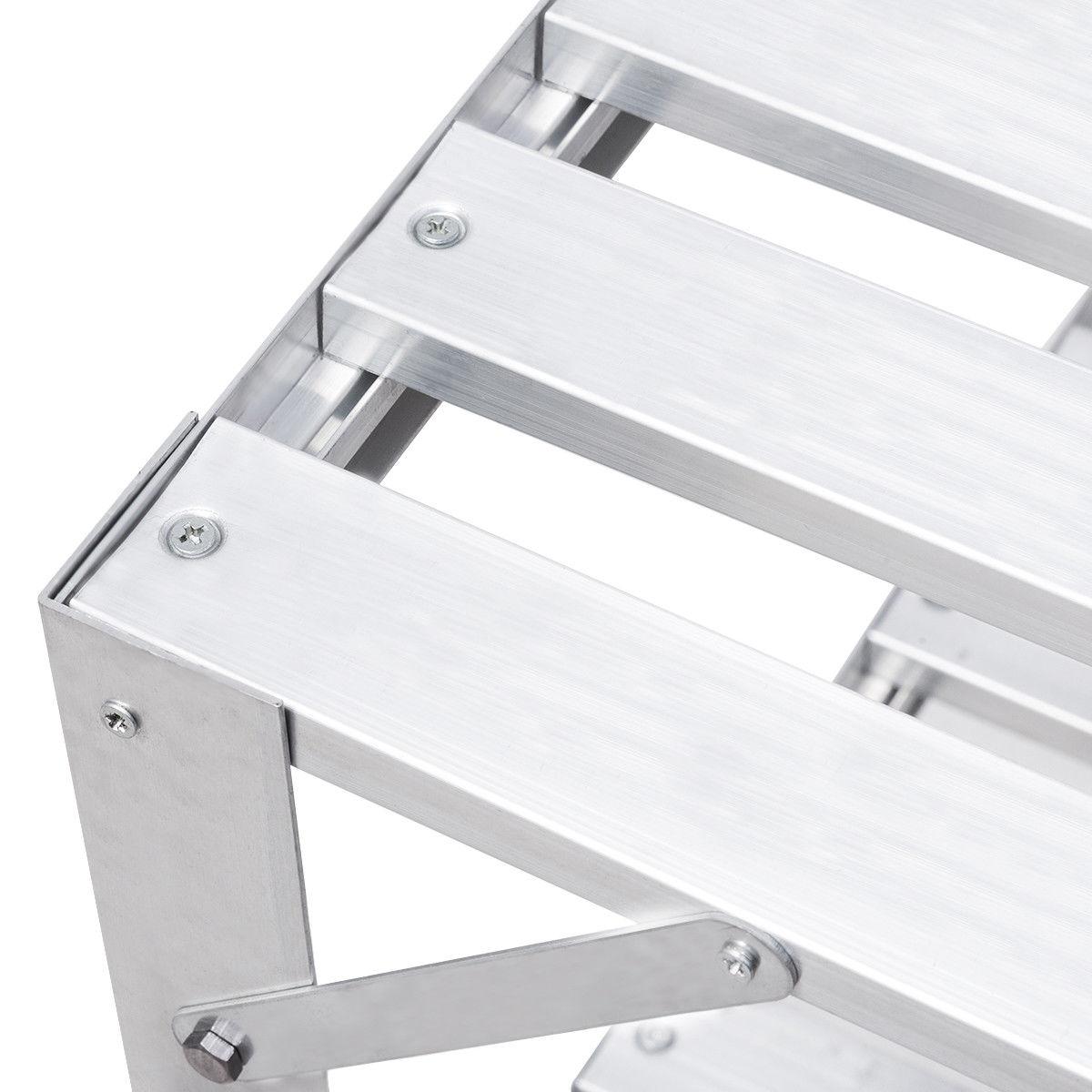 Aluminum Workbench Greenhouse Prepare Work Potting Table