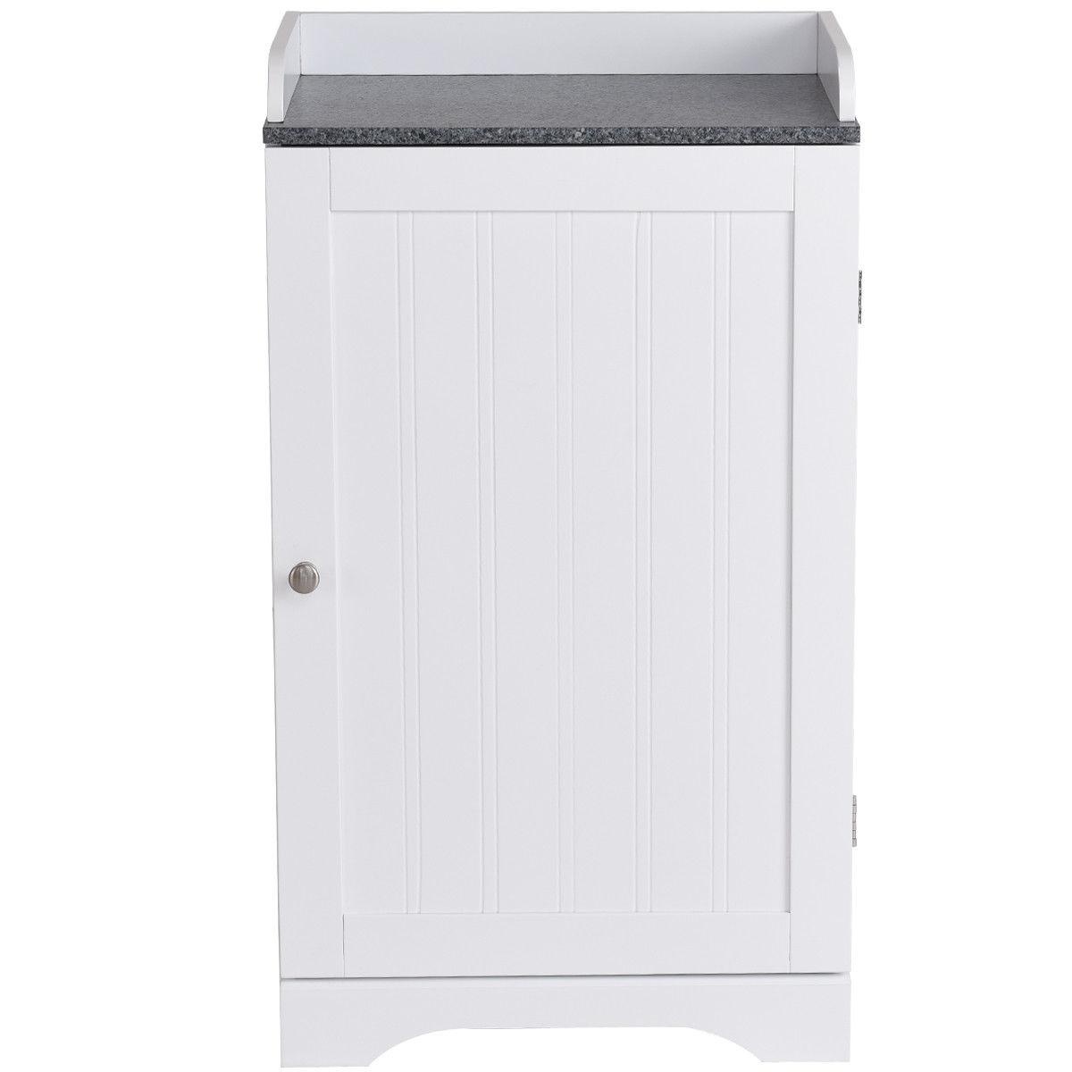 Bathroom Freestanding Storage Cabinet w/ Single Door