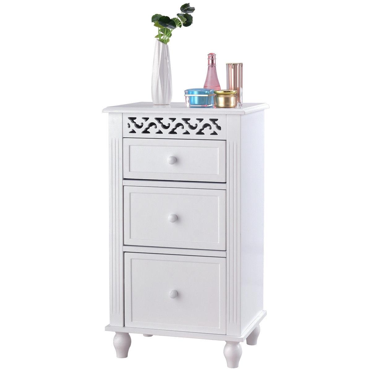Bathroom Wood Kitchen Collection Storage Organizer Floor Cabinet