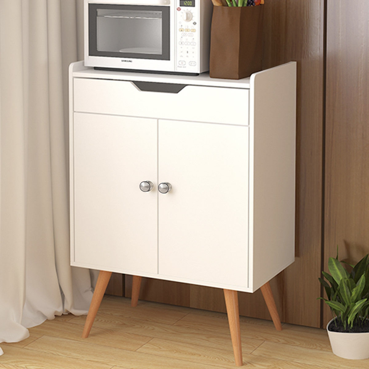 Two Door Buffet Sideboard Storage Cabinet