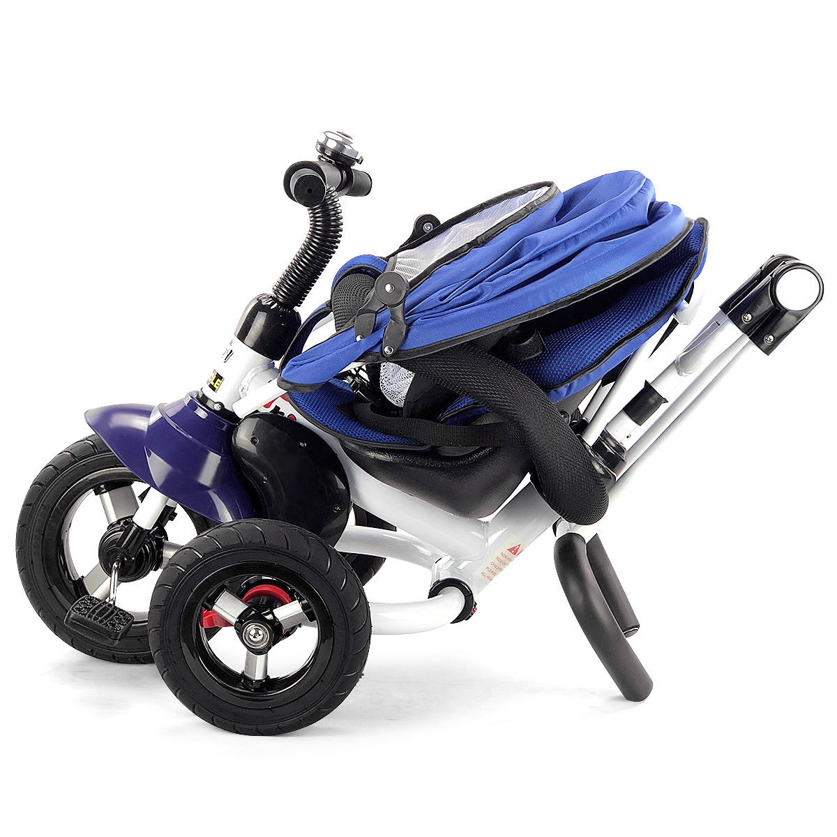 6-In-1 Kids Baby Stroller Tricycle Detachable Learning Toy Bike