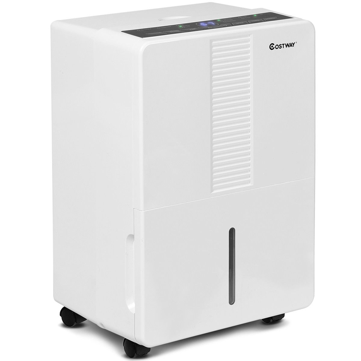 Portable 30 Pint Humidity Control up to 1500 Sq.Ft. Dehumidifier