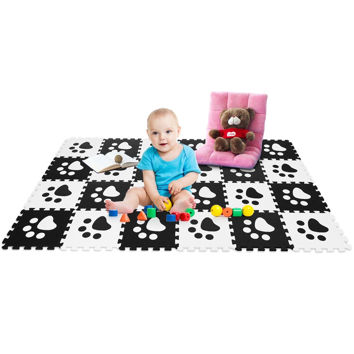24 Pieces Baby Kids Carpet Puzzle Exercise Mat
