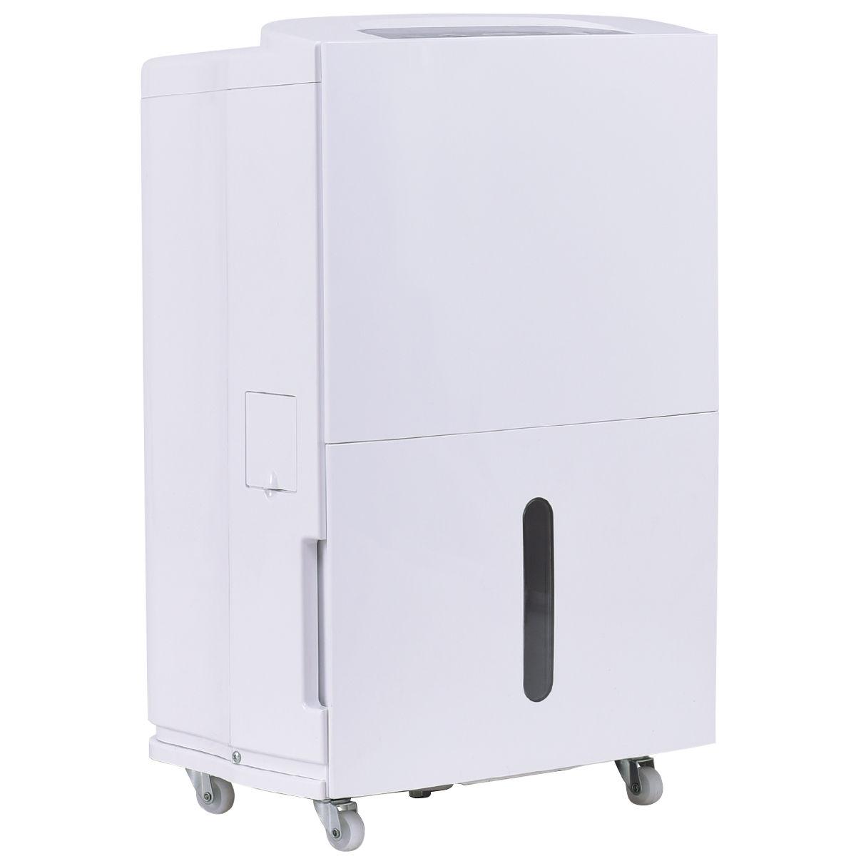 Compact 50 Pint Dehumidifier 3-Speed Fan Air Filter