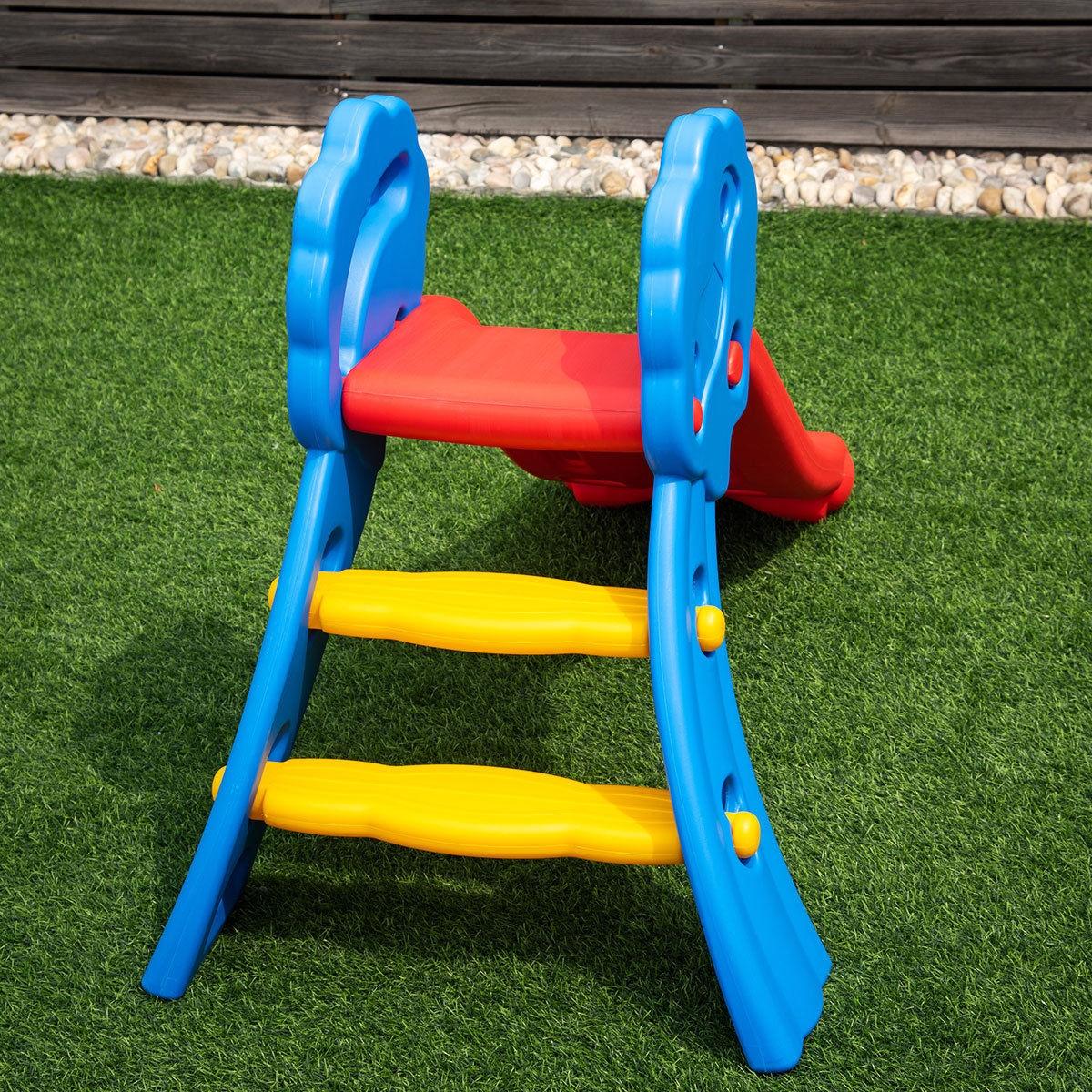 Indoor Outdoor Children Folding Up-down Slide
