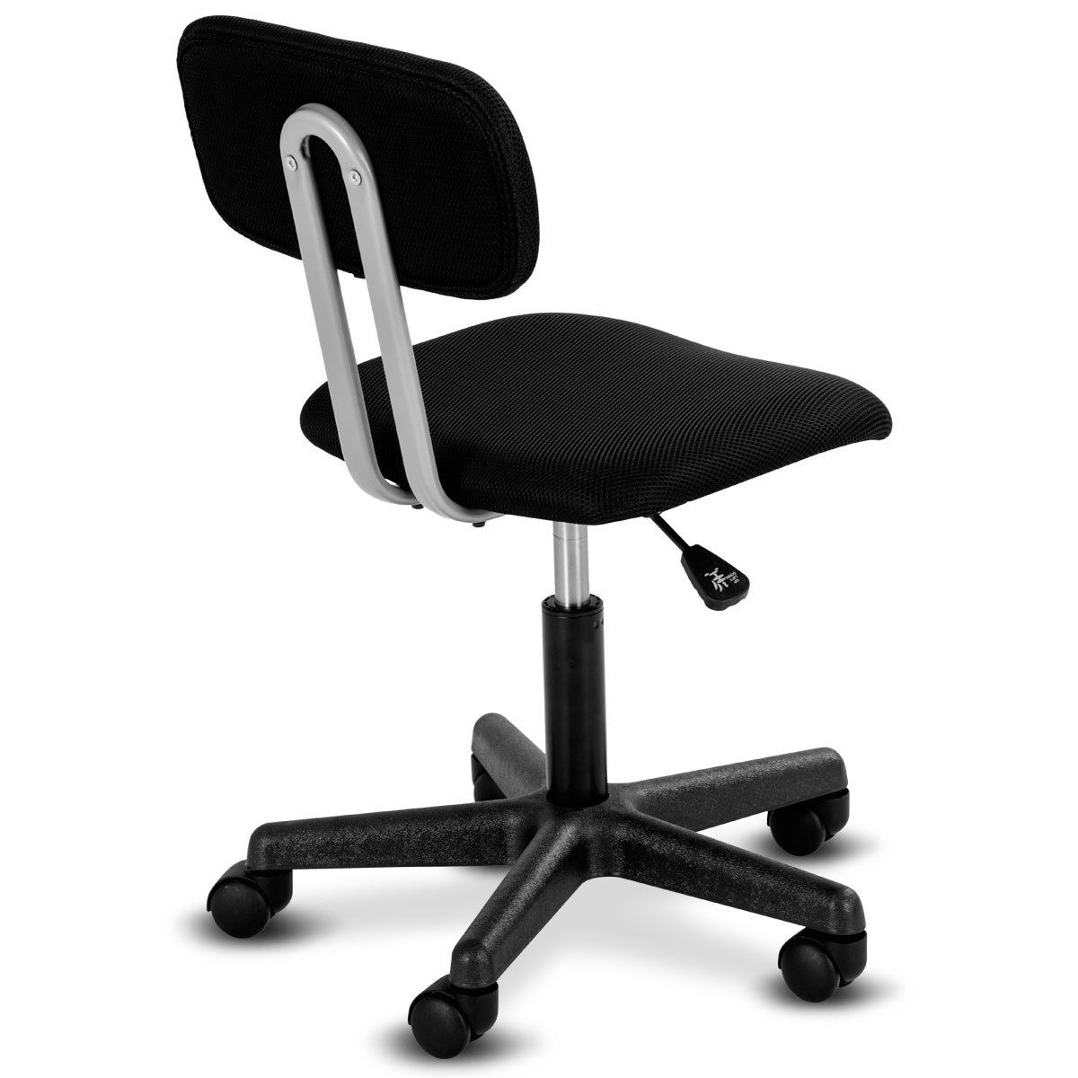Swivel Height Adjustable Mid-back Mesh Armless Office Chair