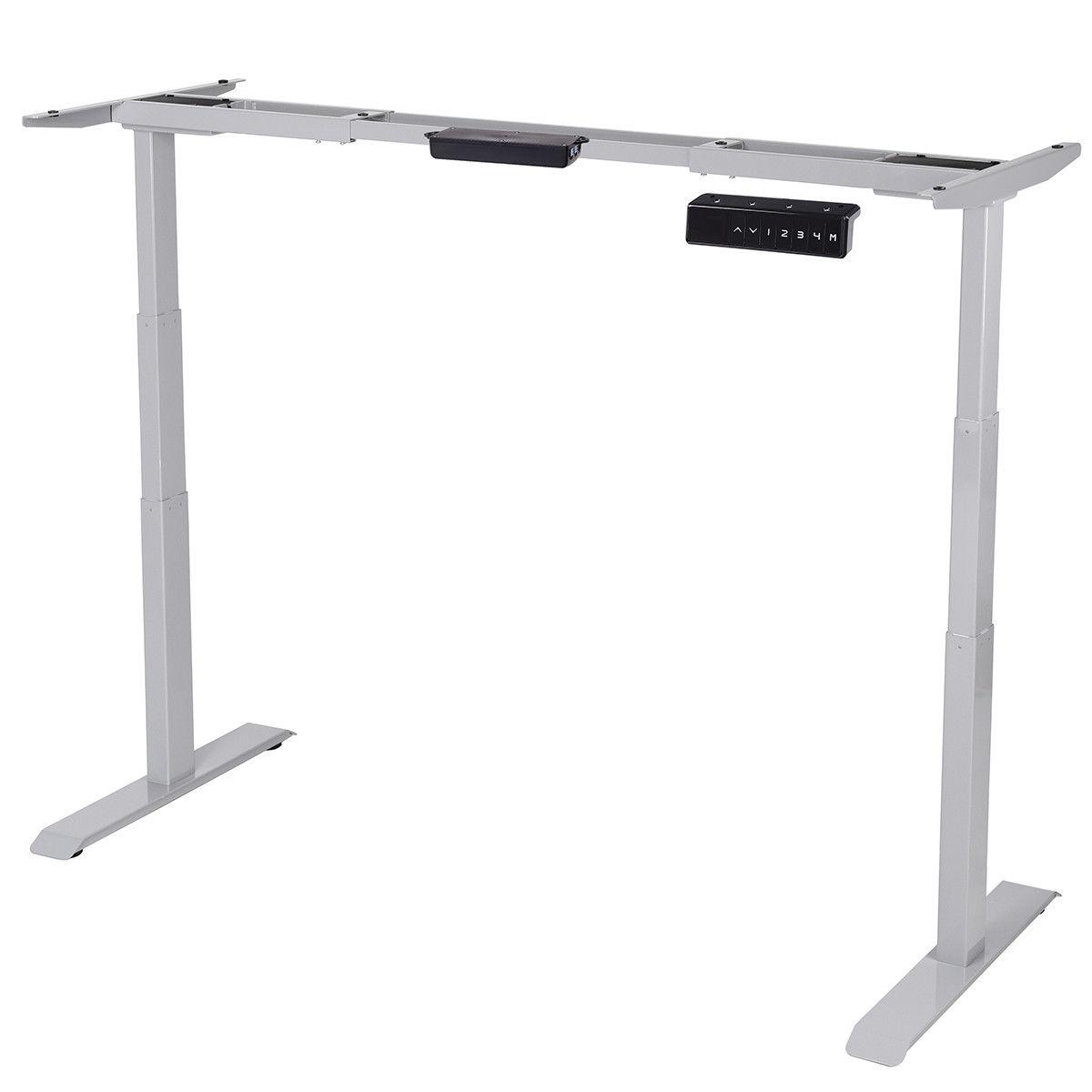 Electric Height Adjustable Standing Desk Frame