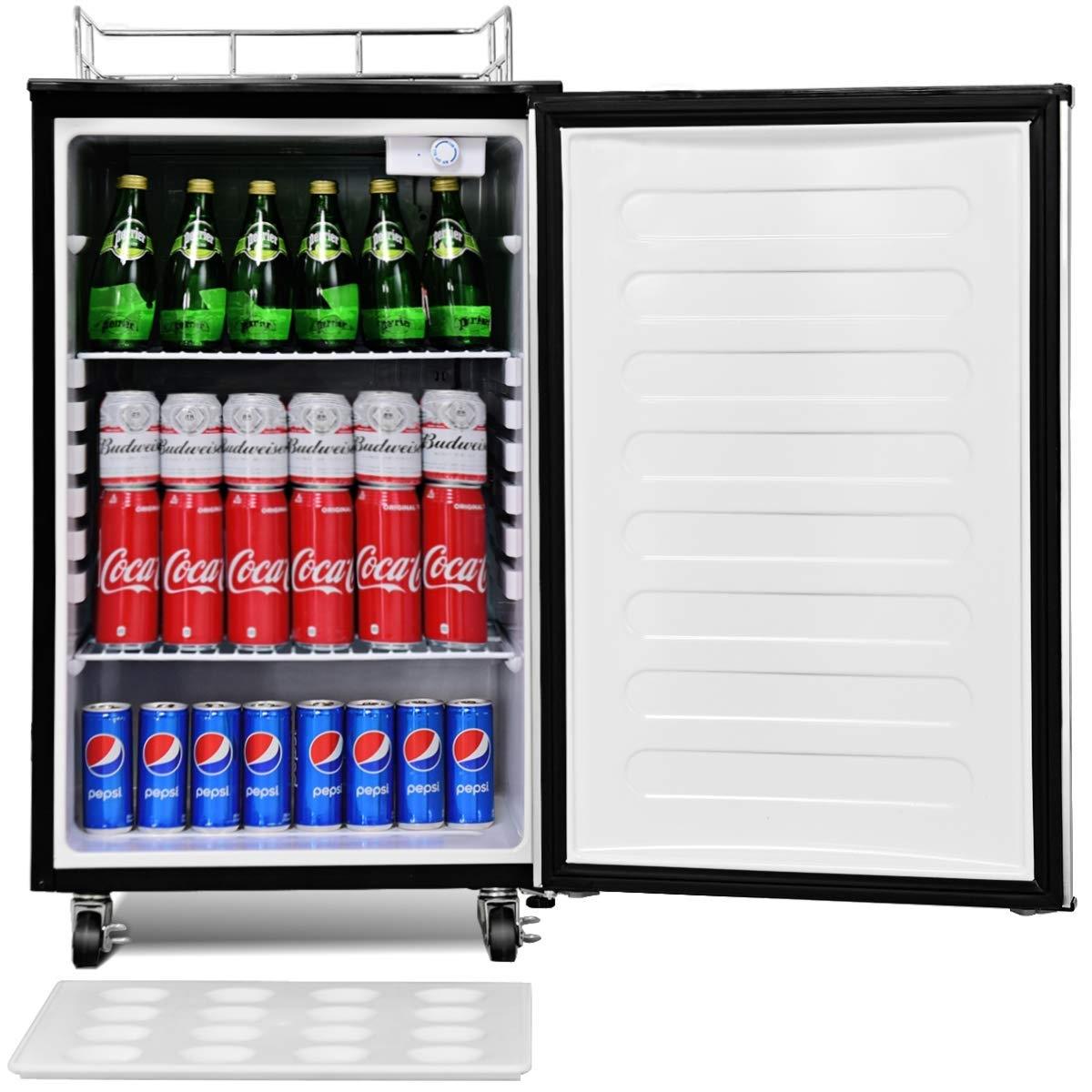 6.1 cu. ft Beer Dispenser Beer Cooler with Single-tap
