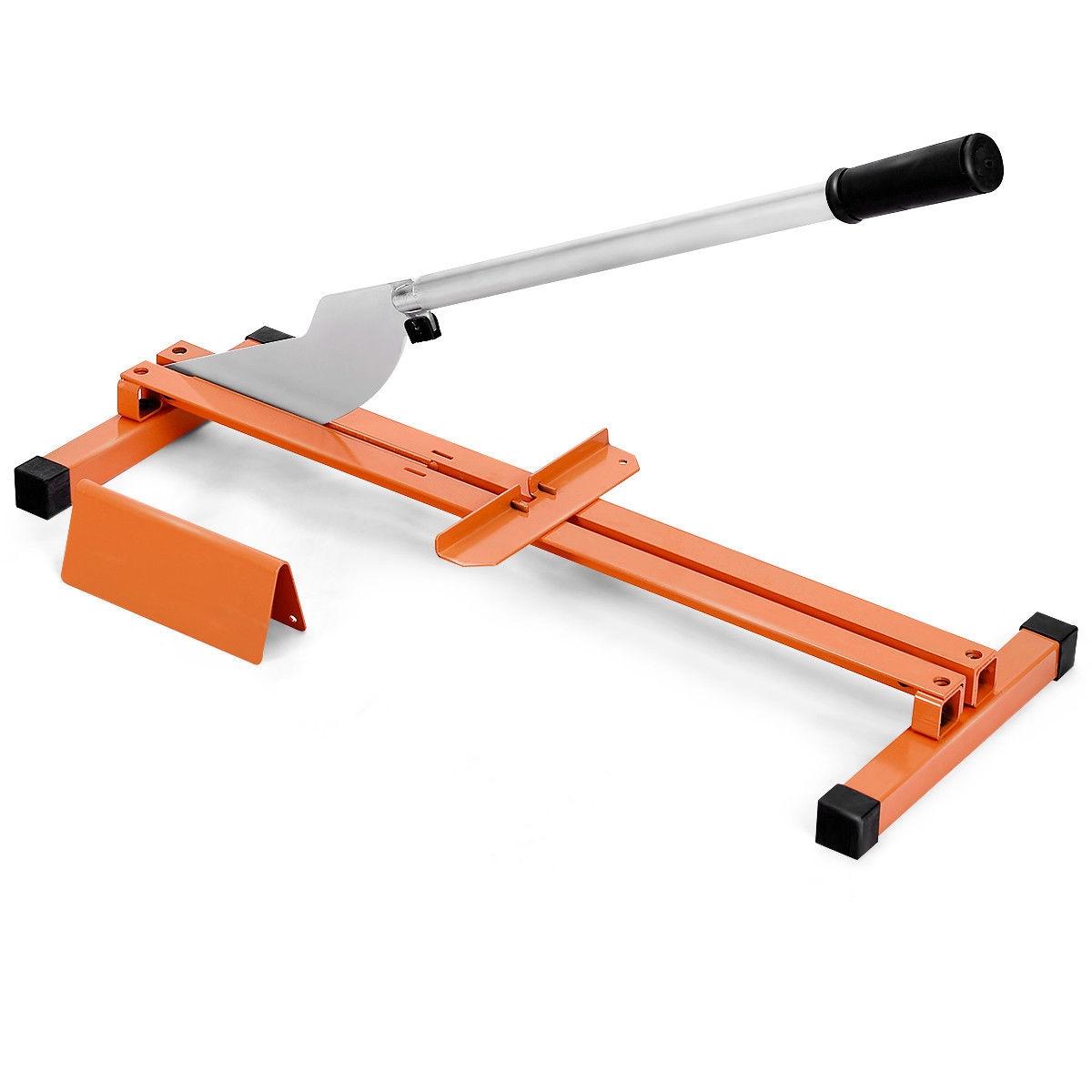 Laminate Flooring Cutter Hand Tool V-Support Heavy Duty Steel