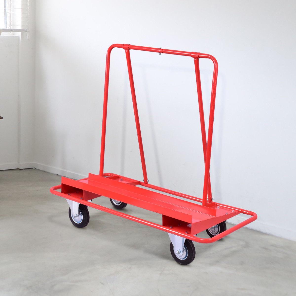 Handling Heavy Duty Sheetrock Sheet Panel Service Cart