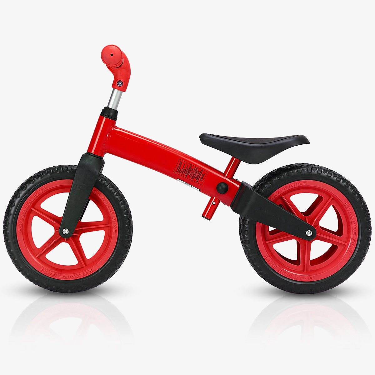 Balance Bike Kids No-Pedal With Adjustable Seat 3 Wheels