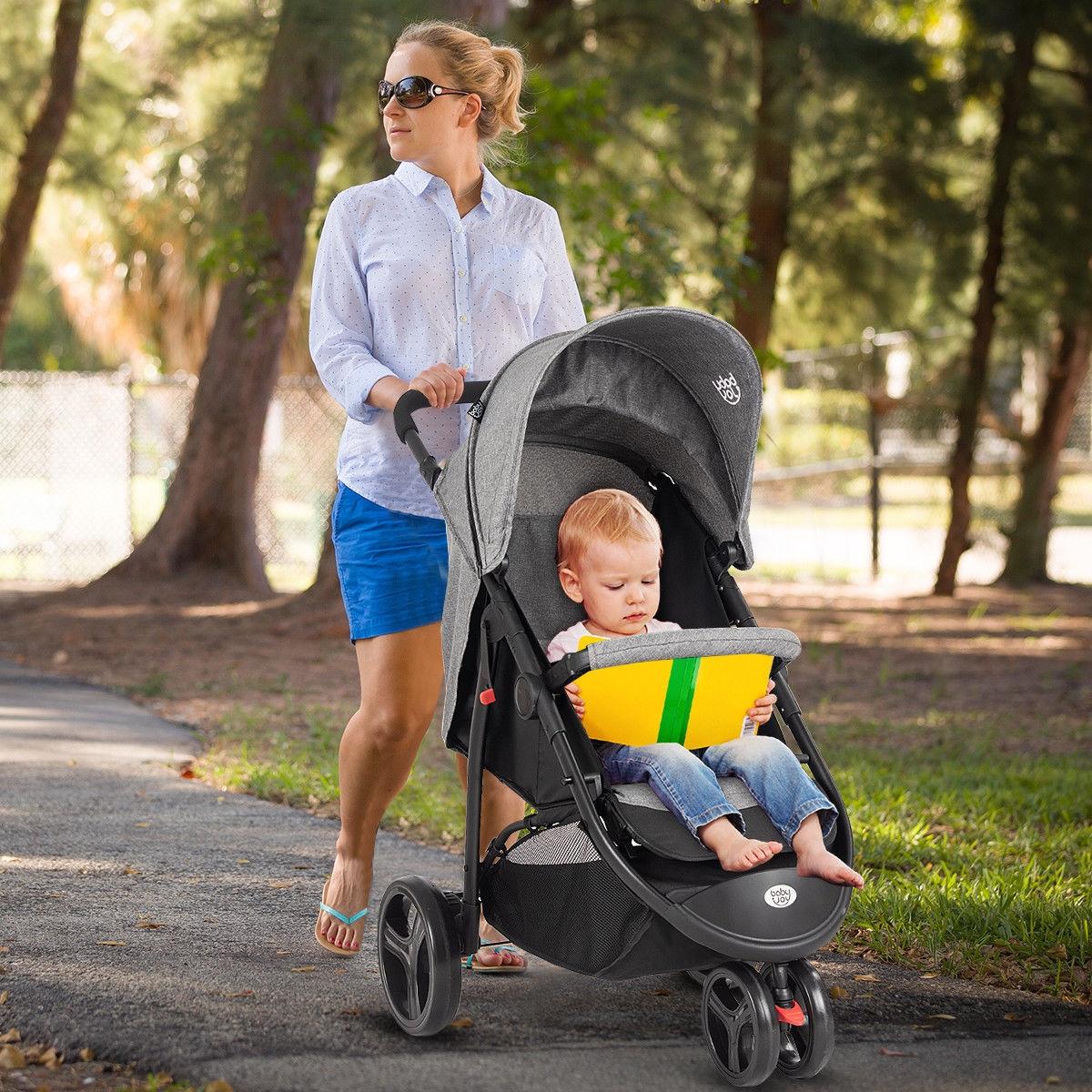 Portable Folding Baby Stroller Kids Travel Pushchair